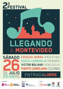 Llegando a Montevideo